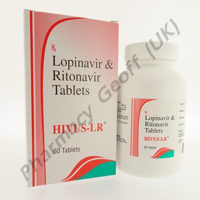 Hivus-LR (Lopinavir/Ritonavir) - 200mg/50mg (60 Tablets)