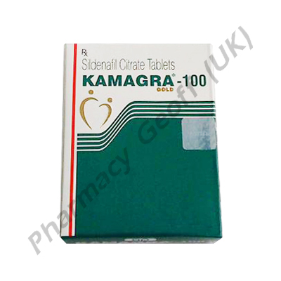 Kamagra Gold (Sildenafil Citrate) - 100mg (4 Tablets)