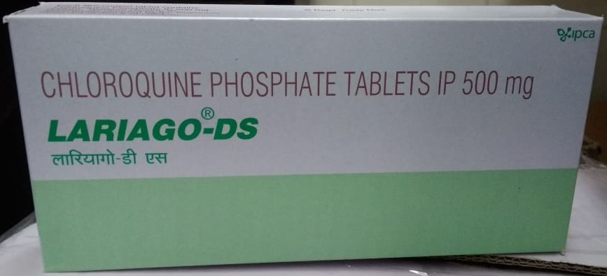 Lariago-DS (Chloroquine) - 500mg (100 Tablet)