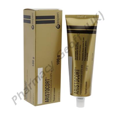 Aristocort Cream (Triamcinolone) - 0.02% (100g Tube)