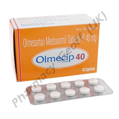 Olmecip (Olmesartan Medoxomil) - 40mg (10 Tablets)