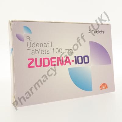 Zudena-100 (Udenafil) - 100mg (4 Tablets)
