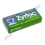 Zyrtec (Cetirizine) - 10mg (30 Tablets)