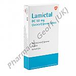 Lamictal DC (Lamotrigine) - 50mg (30 Tablets)
