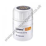 Losec (Omeprazole) - 20mg (30 Capsules)