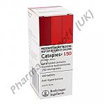 Catapres (Clonidine Hydrochloride) - 150mcg (100 Tablets)