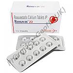 Rosuvastatin (Rosuvas) - 20mg (10 Tablets)