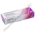 Lipex (Simvastatin) - 40mg (30 Tablets)