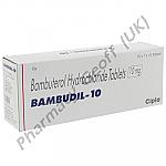 Bambudil (Bambuterol) - 10mg (10 Tablets)