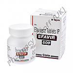 Efavir (Efavirenz) - 600mg (30 Tablets)