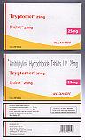 Tryptomer (Amitriptyline Hydrochloride) - 25mg (30 Tablets)