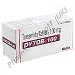 Torsemide (Dytor) - 100mg (10 Tablets)