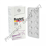 Baytril (Enrofloxacin) - 150mg (10 Tablets)