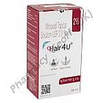 Hair4U 2% (Minoxidil) - 2% (60mL)