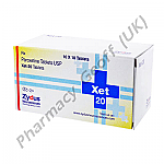 Paroxetine (Xet) - 20mg (10 Tablets)