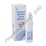 X-Lash (Bimatoprost Ophthalmic Solution) - 0.03% (3mL) + 1 Applicator Brush