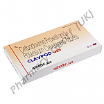 Clavpod 325 (Cefpodoxime/Potassium Clavulanate) - 200mg/125mg (10 Tablets)
