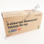 Abel-40 (Azilsartan Medoxomil) - 40mg (10 x 10 Tablets)