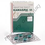 Kamagra (Generic Viagra) - 50mg (4 Tablets)