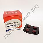 Verpin-6 (Ivermectin) - 6mg (10 x 4 Tablets)
