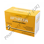 Indomethacin Suppositories (Arthrexin) - 100mg (30 Suppositores)
