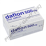 Daflon (Diosmine/Hesperidin) - 450mg/500mg (60 Tablets)