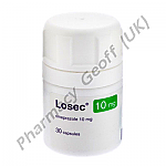 Losec (Omeprazole Magnesium) - 10mg (30 Capsules)