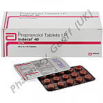 Propranolol (Inderal) - 40mg (15 Tablets)