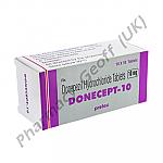 Donecept (Donepezil Hydrochloride) - 10mg (10 Tablets)