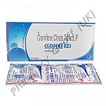 Clofert-50 (Clomifene Citrate) - 50mg (10 Tablets)
