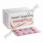 Tadarise-Pro-40 (Tadalafil) - 40mg (10 Tablets)