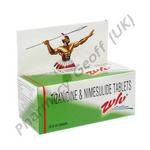 Zulu (Tizanidine/Nimesulide) - 2mg/100mg (10 Tablets)