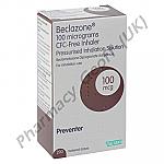 Beclazone Inhaler (Beclometasone Dipropionate) - 100mcg (200 Doses)
