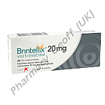 Brintellix (Vortioxetine) - 20mg (28 Tablets)