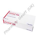 Trental (Pentoxifylline) - 400mg (15 Tablets)