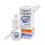 Azopt Eye Drops (Brinzolamide) - 1% (5mL Bottle)